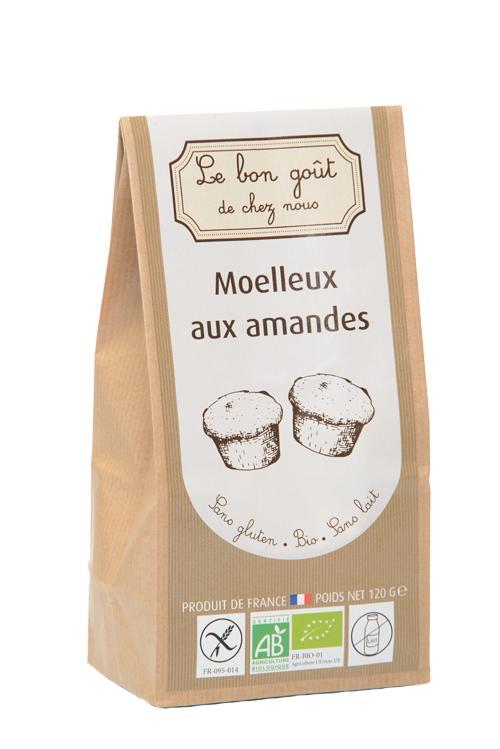 Moelleux aux amandes - Épicerie sucrée