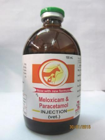 Veterinary Meloxicam Paracetamol Injection - Veterinary Meloxicam Paracetamol Injection