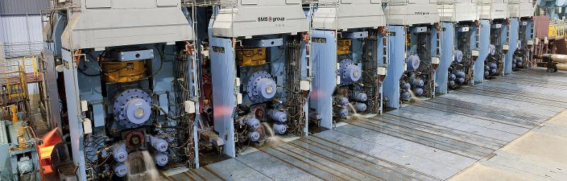 Hot strip mills for steel - Hot rolling