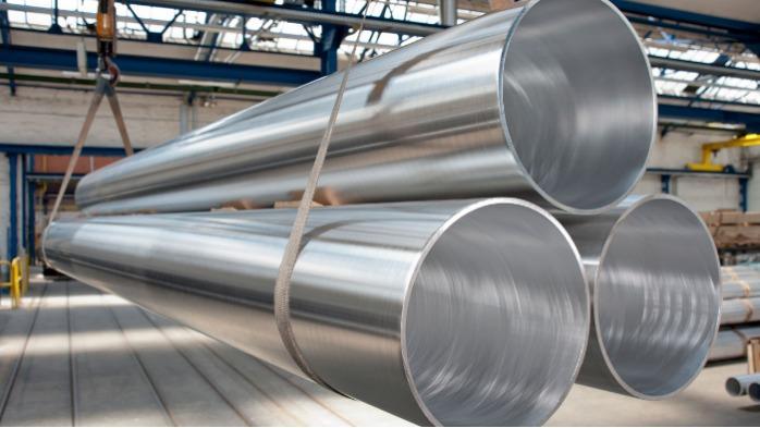 Tubi in alluminio estruso a ponte - Tubi in alluminio estruso a ponte (con saldatura) da 11 mm a 355 mm