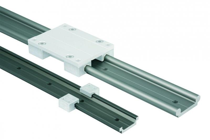 Guide rails DryLin® W - Guide rails DryLin® W single or double.