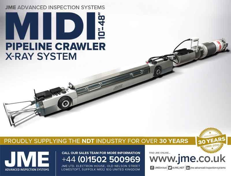 JME Pipeline Crawler Inspection Systems - Pipeline Inspection Systems