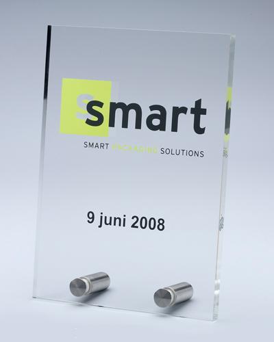 Business Gifts, trofeeën - Type trofee: Award inox 3