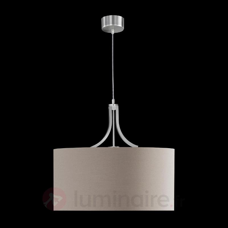 Suspension attrayante Mira à une lampe, cappuccino - Cuisine et salle à manger