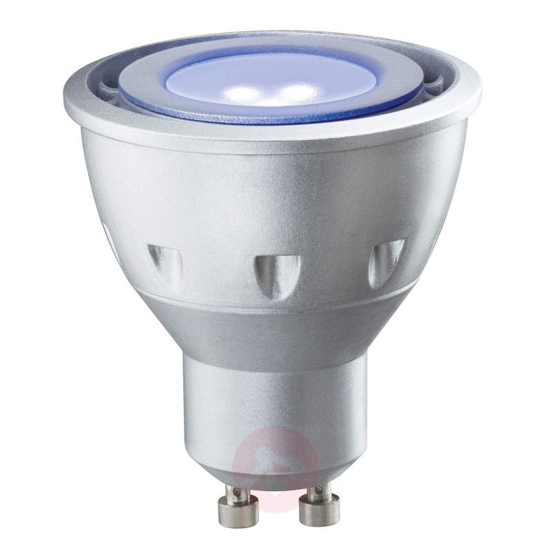 GU10 4.5W 100° black light LED reflector lamp - light-bulbs