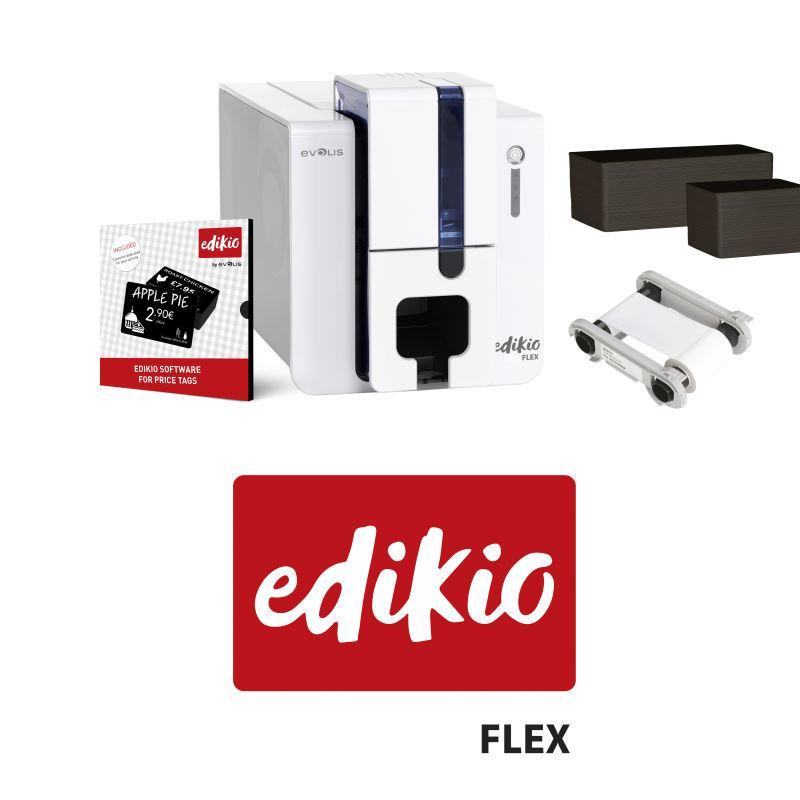 Imprimante Evolis Edikio Flex - étiquettes de prix plastique