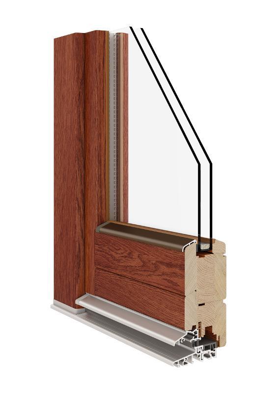 Balcony Door (Wooden 68|78|92) - Wooden Balcony (Casement) Door