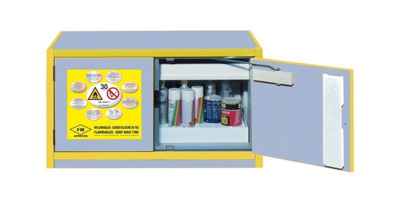 Produits chimiques et matériels de stockage - Armoire de sécurité Normes européenne et américaine