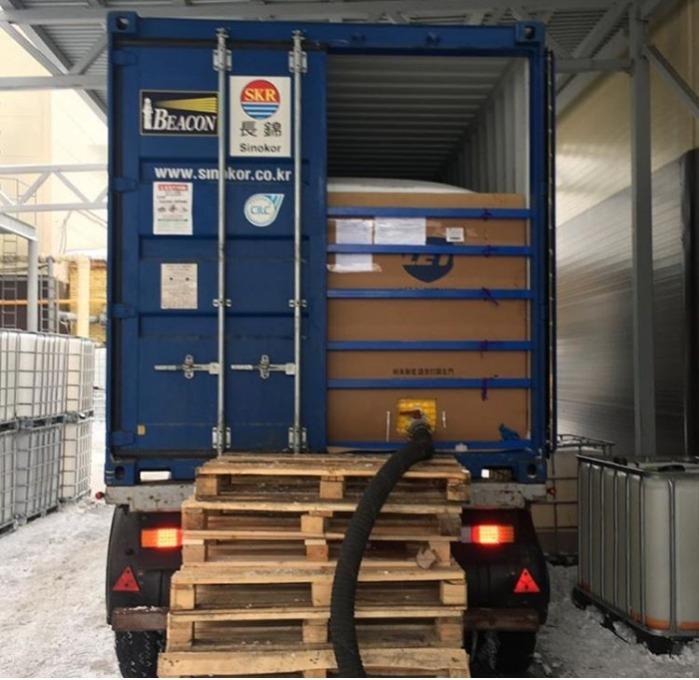 перевозка наливных грузов в контейнерах - Масло, соки, алкоголь