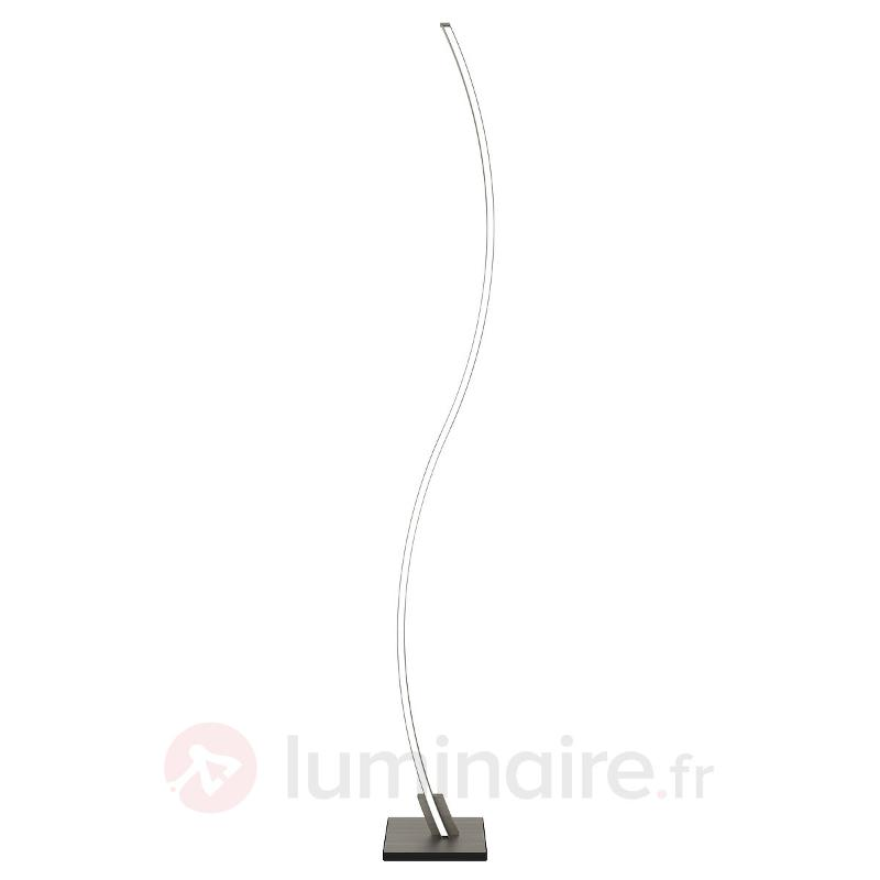 Fin lampadaire LED Swing avec télécommande - Lampadaires LED