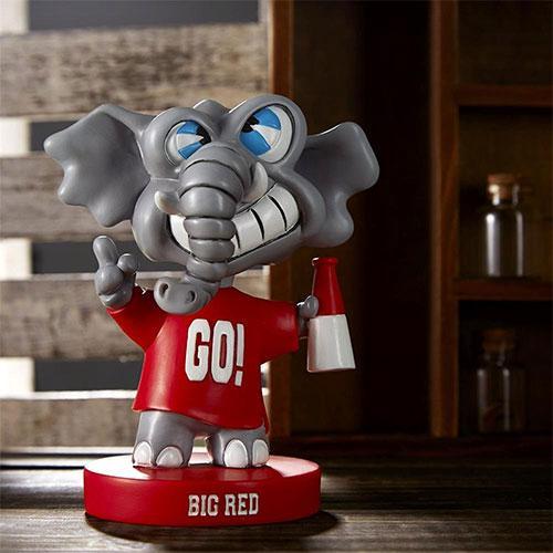 Custom cartoon elephant resin figurine - Figures