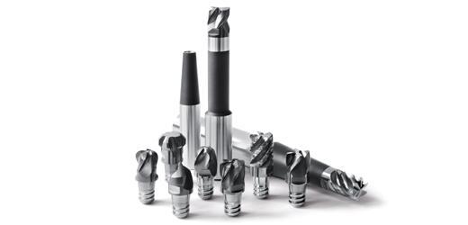 Fraise à têtes amovibles CPMill  - Outils carbure monobloc