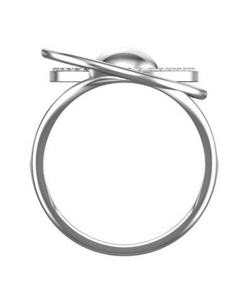 """Silver Ring - """"Sphere"""""""