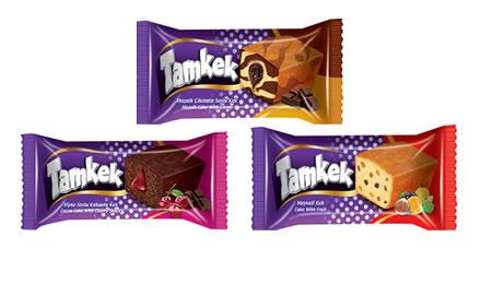 Tamkek - Tamkek With Fruit or With Cocoa or Cocoa Cake With Filled Cherry Cream