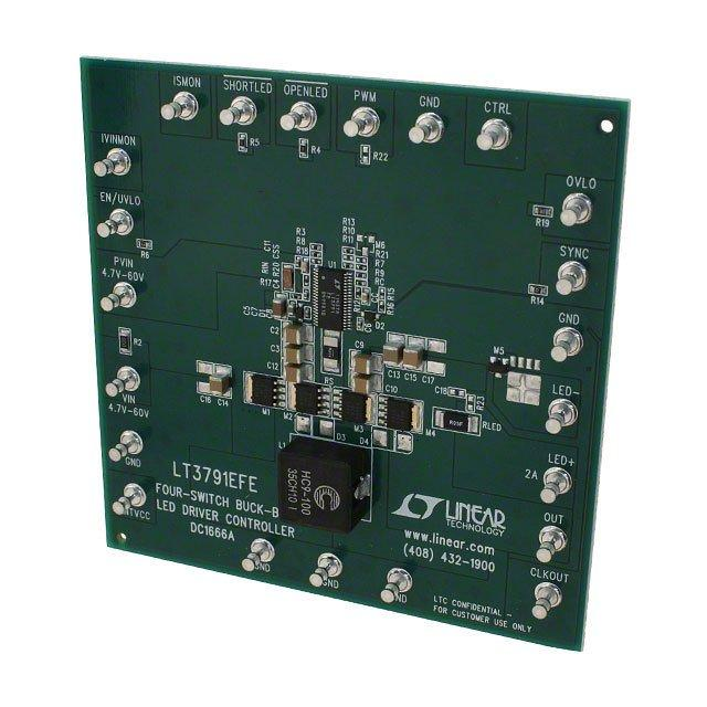 BOARD DEMO LED DRIVER LT3791 - Linear Technology DC1666A