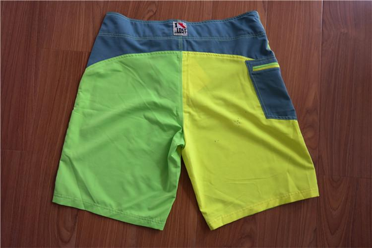 Men's beach shorts with tetrahedral elastic fabric YH16-36T - YH16-36T