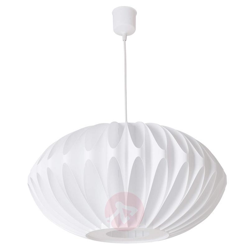 White pendant light Juliana made of plastic - indoor-lighting