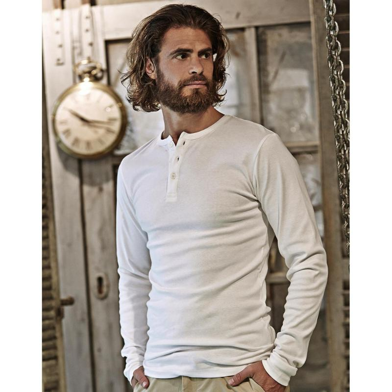 Tee-shirt homme Rib - Manches longues