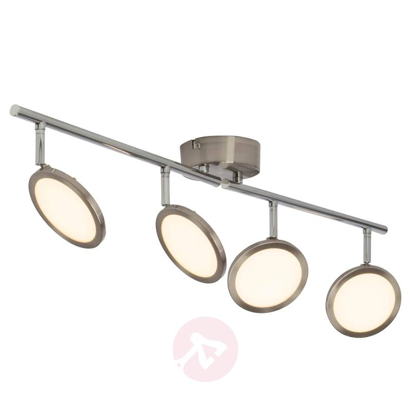 Dimmable LED ceiling light Scope, four-bulb - indoor-lighting
