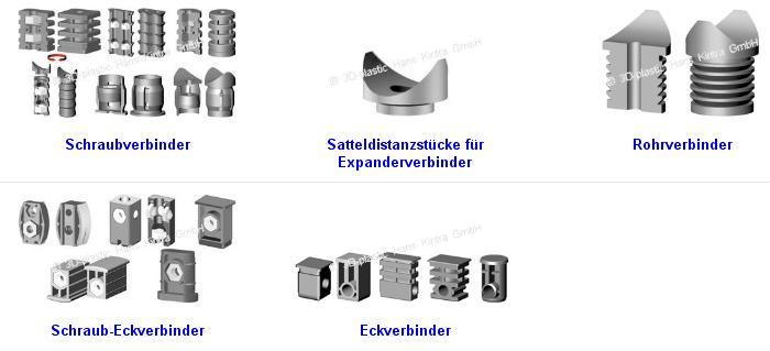 Schraubverbinder, Screw connectors, Connecteurs de vis
