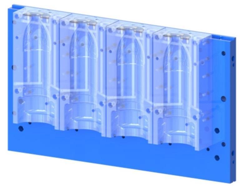 Moldes para Máquina de Insuflação de Pré-formas de PET - www.flexblow.com