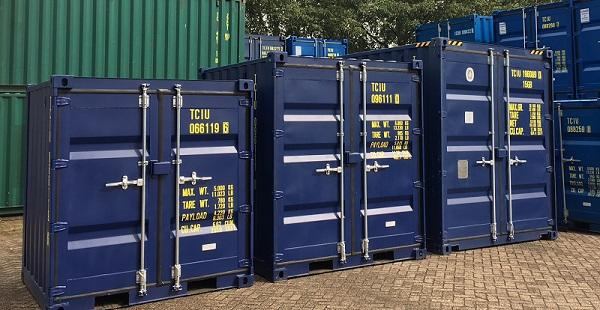 extra hoge kleine opslagcontainers