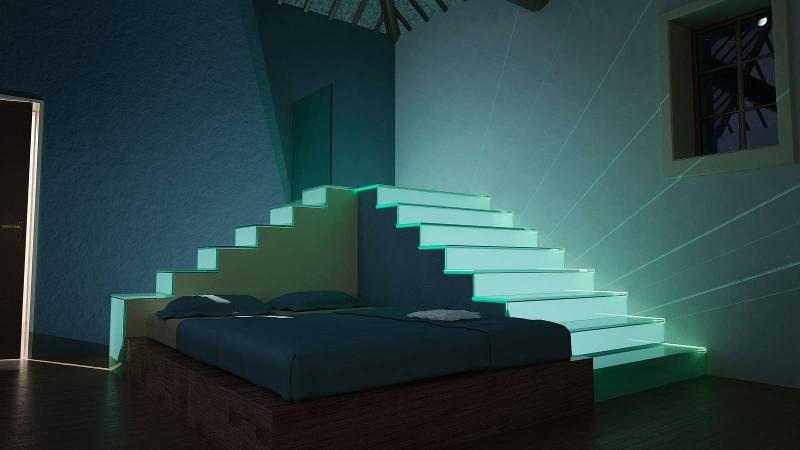 Stairs Faltwerk - Cube
