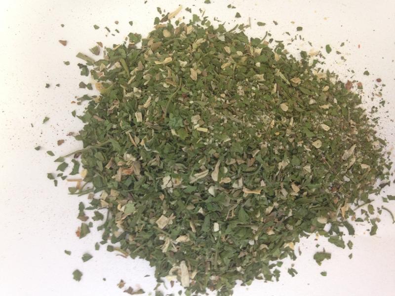 Bruschetta Gewürz , grün - null