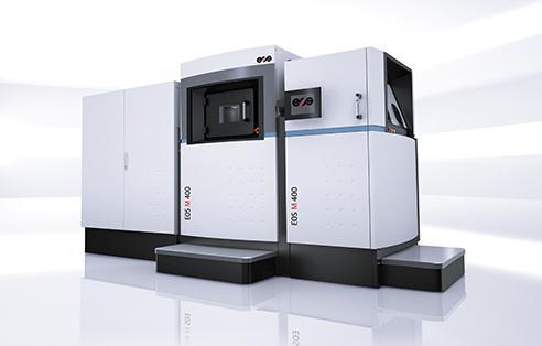 EOS M 400 - System zum industriellen 3D Druck von großen, hochqualitativen Metallteilen.