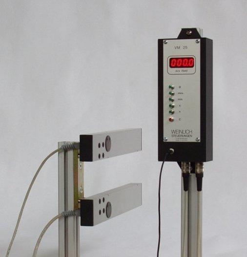 Geschwindigkeitsmesser VM für fliegende Teile /... -