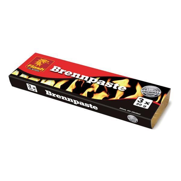 FLASH Brennpaste 3 x 80 g -