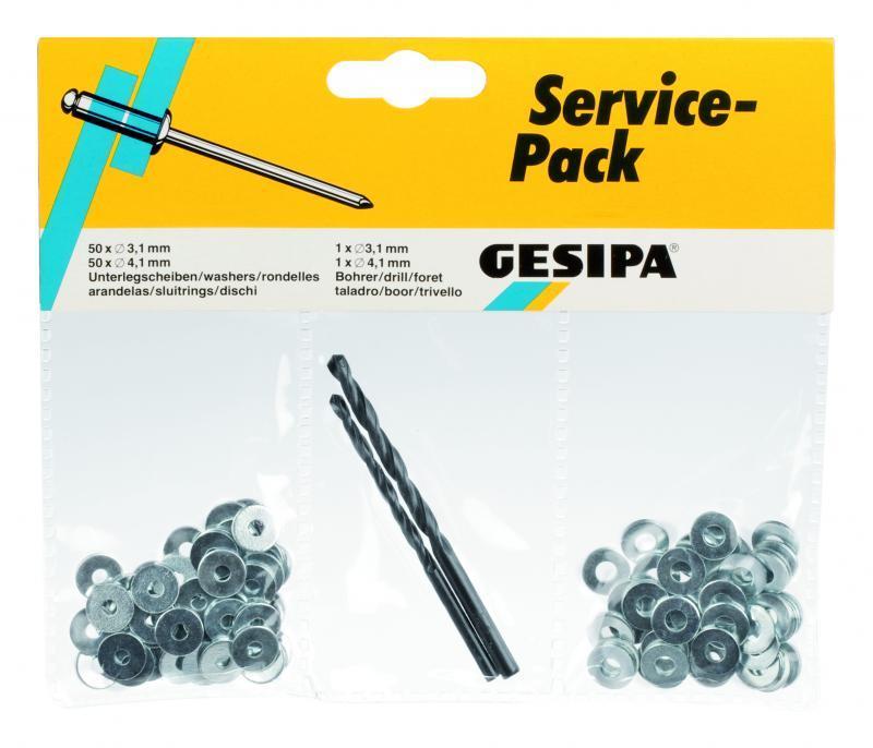 Paquete de servicio (remaches ciegos) - Paquete de servicio para remachado