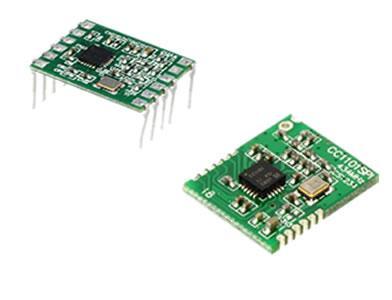 CC1101 Transceiver Module - 433/868MHz Trasnceiver Module based on CC1101