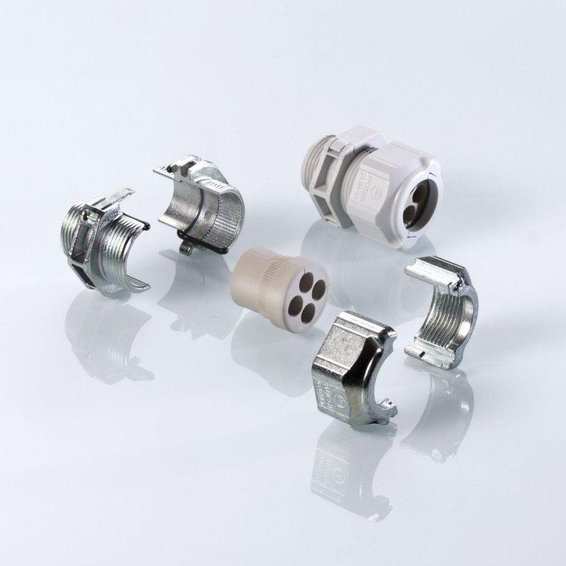 Splittable Cable Gland Systems: UNI Split Gland - Splittable Cable Gland Systems: UNI Split Gland