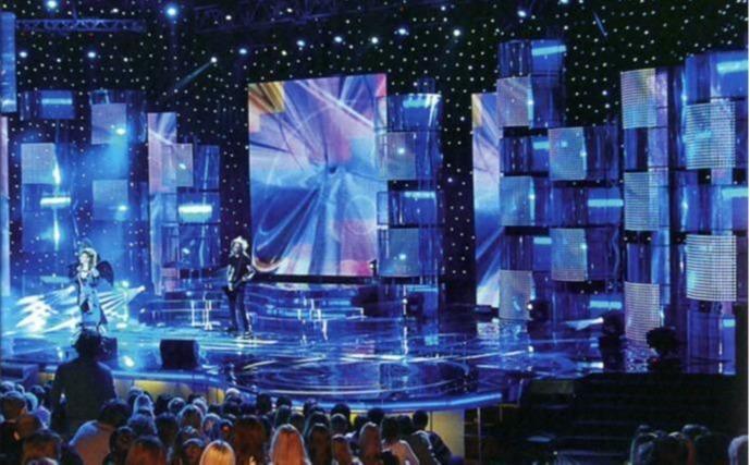 Led képernyők beltéri koncertterületekhez - P1.95 - P2.6 - P2.97 - P3.91 Bérelhető tok AVA LED kijelzők