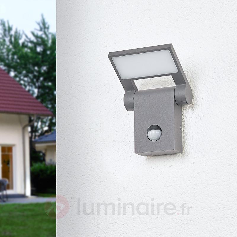 Marius - applique d'extérieur à capteur avec LED - Appliques d'extérieur avec détecteur