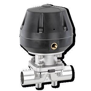GEMÜ 687 - Мембранный клапан с пневмоприводом