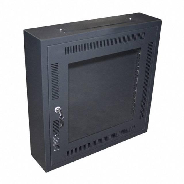 "CABINET NETWORK 6X24X24"" BLACK - Bud Industries WNC-5631"