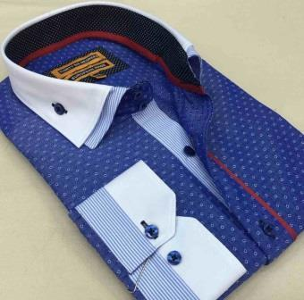Model A1 slimfit men's shirts - manufacturing of men's shirts in Istanbul
