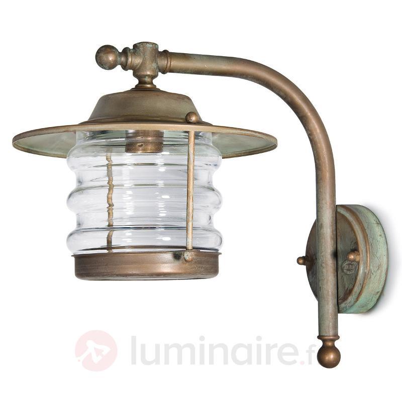 Lanterne Adessora résistant à l'eau de mer - Appliques d'extérieur cuivre/laiton