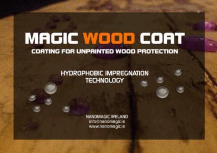 MAGIC WOOD COAT - Hydrophobic Impregnator for Unpainted Wood Protection