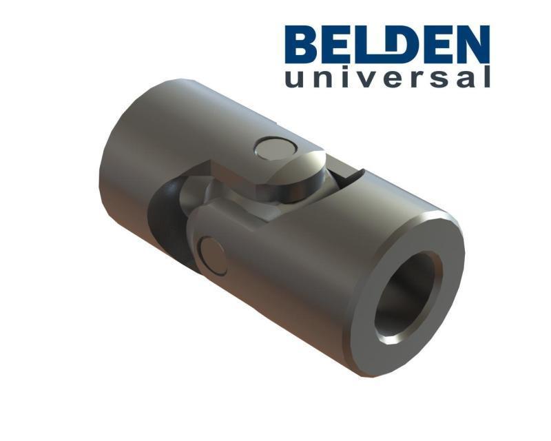 BELDEN DIN 808 Stainless Steel 316L Single Universal Joints - Stainless Steel Cardan Joints, Stainless Steel U Joint