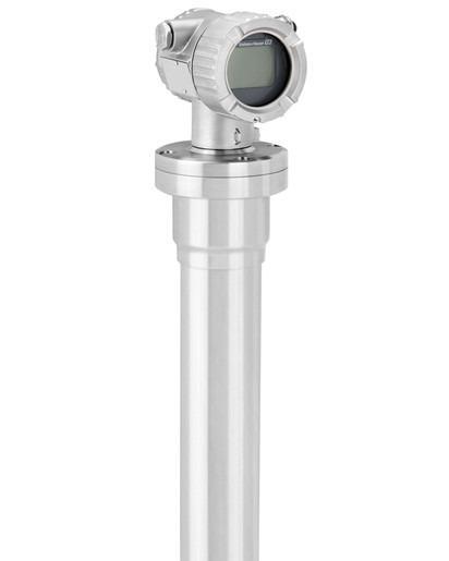 Messung von Füllstand und Dichte mit dem Gammapilot FMG50 - Kompakttransmitter zur Grenzstanddetektion, Trennschicht- und Dichtemessung