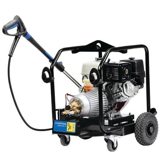 NILFISK MC PE / DE - Nettoyeur haute pression essence... - Puissance maximale et liberté total d'utilisation