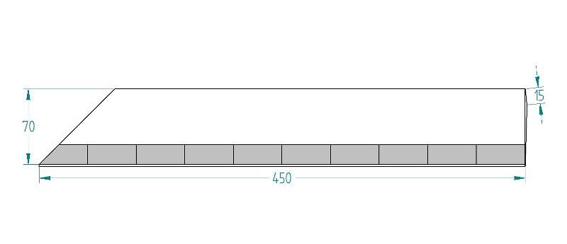 Mise De Soc 10 Plaquettes Type Mds 70*15, Mds Pour La Grande Culture - Mises de socs