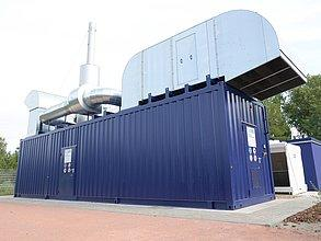 ENERGY FOR THE REGION! - Natural gas combined heat and power plants