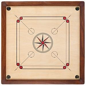 carrom board - Wooden Carrom Board