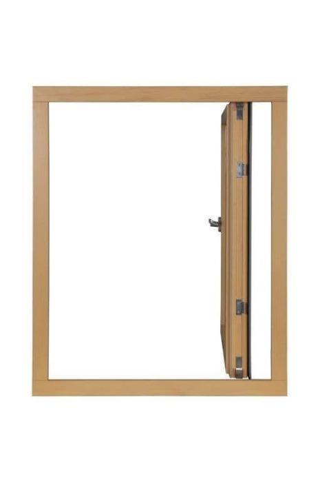 Alu-Cladding Windows | Nordik - Alu-Wood Cladding Windows  outward opening