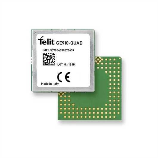 Telit 2G Module GE910-QUAD - EMEA, Latin America, North America, APAC, Australia,