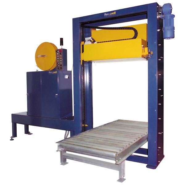 2200 Automatic strapping Vertical strapping with top seal